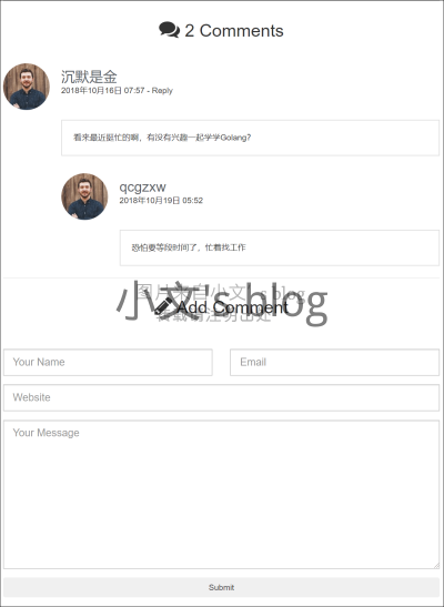 DjangoBlog首页.png